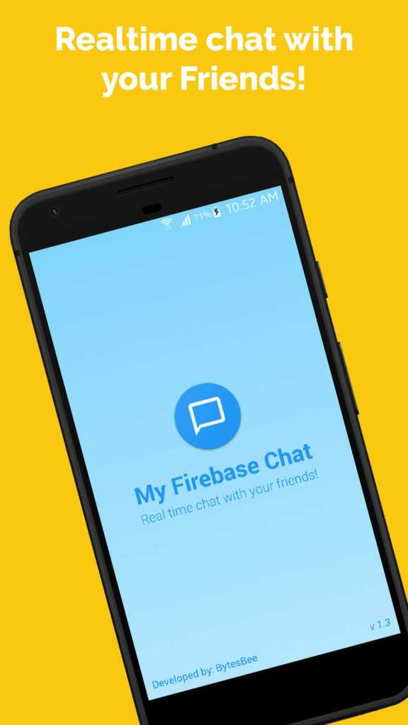 Android Real time Chat app